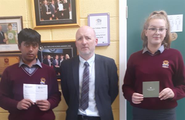 €1000 raised for Mental Health Ireland