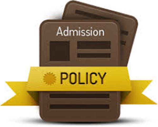 Draft Admissions Policy