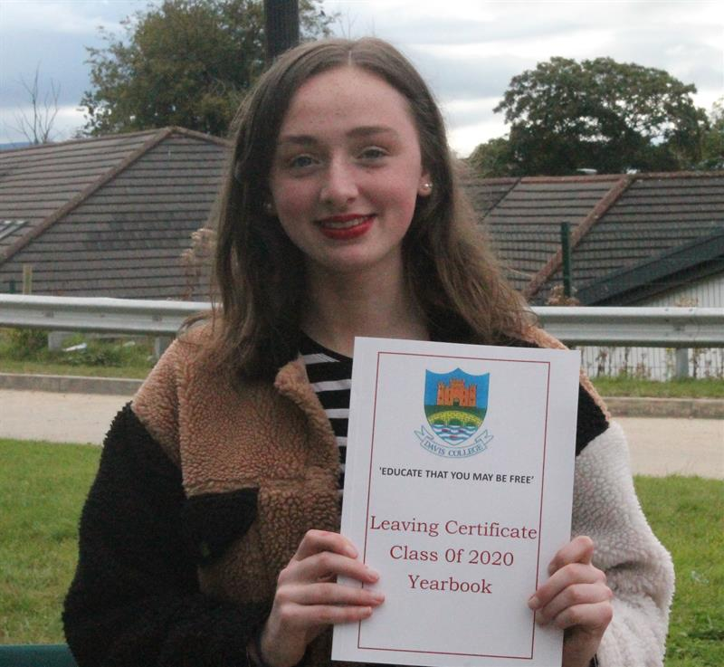 Aine Kelleher who secured 601 points - Copy.JPG