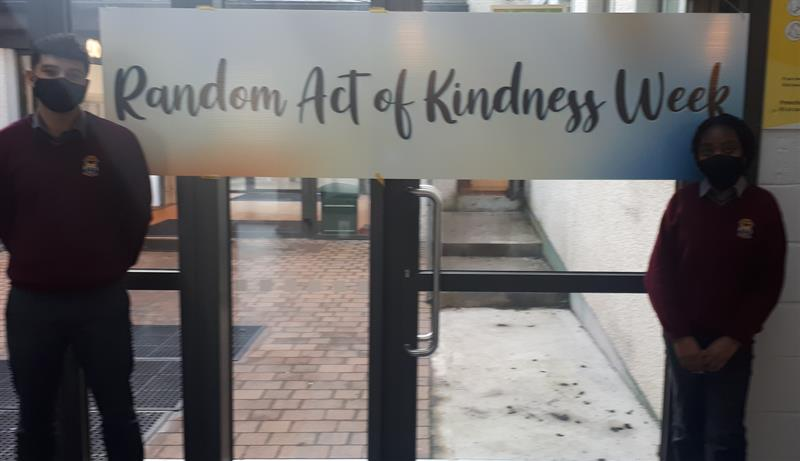 Anthony Castillo and Baroime Fullah of the Student Council who were key in organising the Random Act of Kindness Week.jpg
