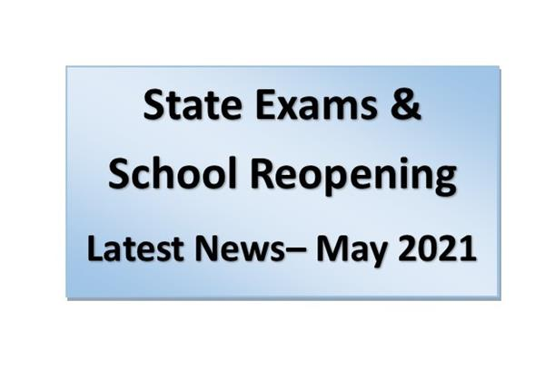 State Exams and School Reopening