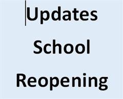 Information on School Reopening
